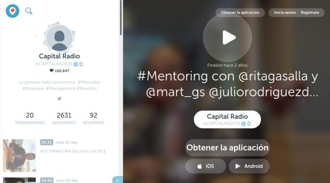 Mentoring. Rita Gasalla en Capital Radio (podcast)