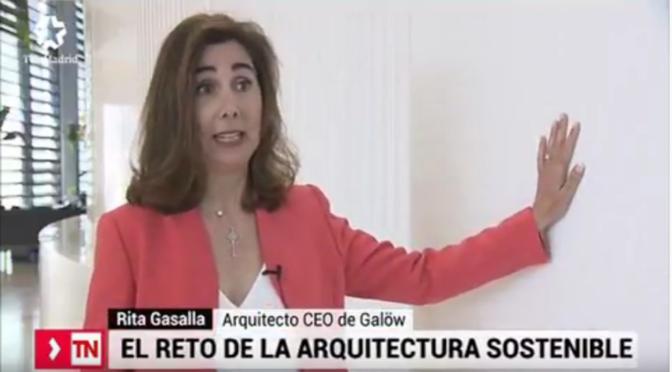 Entrevista a Rita Gasalla en Telemadrid